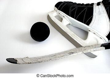 wyposażenie, hokej