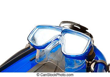 wyposażenie, snorkeling
