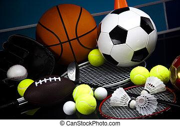wyposażenie, szczegół, lekkoatletyka