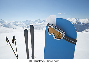 wyposażenie, zima sport