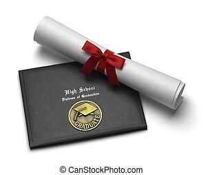 wysoka szkoła, dyplom