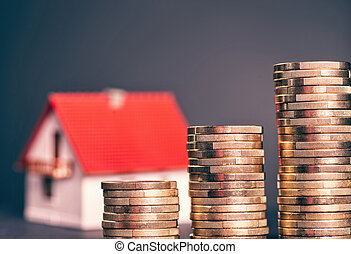 wysoki, ceny, nieruchomość
