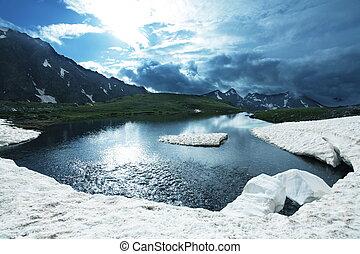 wysokie góry, jezioro