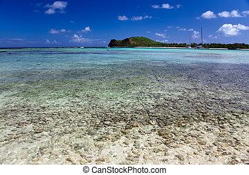 wyspa, gabriel, mauritius., katamarany