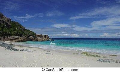 wyspa, seychelles, plaża, indyjski ocean