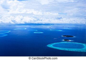 wyspy, malediwy