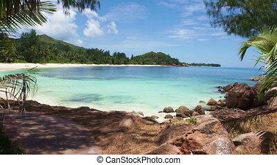 wyspy, seychelles, plaża