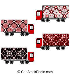 wystawiany zamiar, ciężarówki