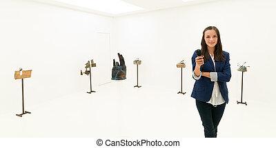 wywiad, rzeźbiarstwo, wystawa