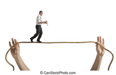 wyzwania, życie, ryzyka, handlowy