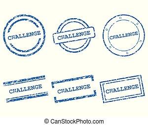 wyzwanie, pieczęcie
