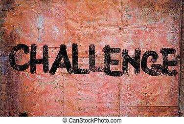 wyzwanie, pojęcie