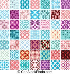 wzory, abstrakcyjny, seamless