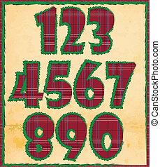 xριστούγεννα , αριθμοί