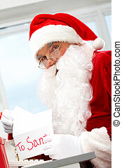 xριστούγεννα , γράμμα , άνοιγμα