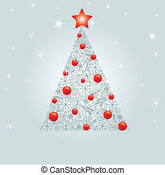 xριστούγεννα , διακόσμησα , δέντρο