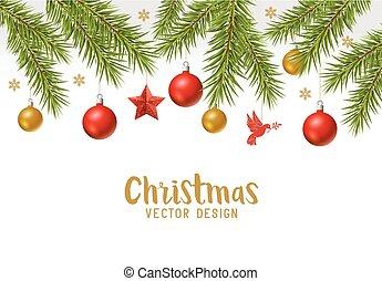 xριστούγεννα , εορταστικός , φόντο , σύνορο , σχεδιάζω