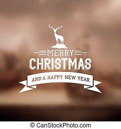 xριστούγεννα , εύθυμος , σήμα