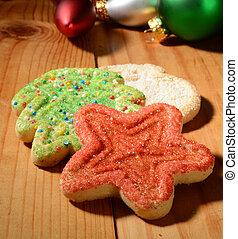 xριστούγεννα , ζάχαρη άχνη, βούτημα
