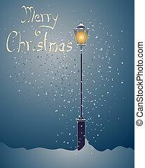 xριστούγεννα , λάμπα