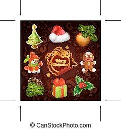 xριστούγεννα , μικροβιοφορέας , απεικόνιση