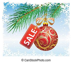 xριστούγεννα , πώληση