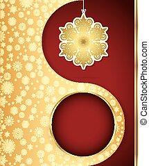 xριστούγεννα , φόντο , με , νιφάδα , design., μικροβιοφορέας , eps , 10