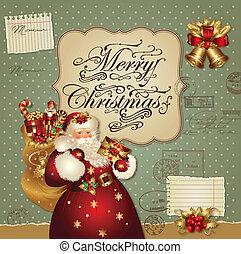 xριστούγεννα , santa
