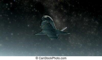 Unmanned spacecraft - X-37B Unmanned spacecraft.