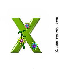 x, alfabeto, wonderland