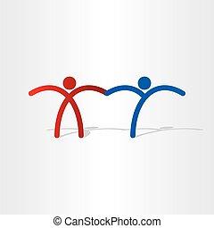 x and y chromosomes pepole design