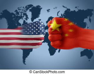 x, china, estados unidos de américa