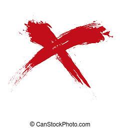x, grunge
