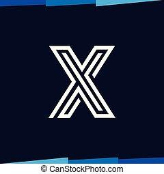 Letter Line logo vector template