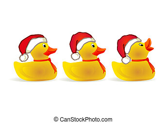 x-mas duckling