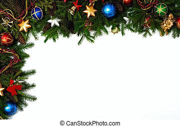 X-mas frame - Christmas frame for your congratulations and...