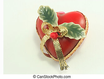 x-mas heart - a heart-shaped christmas decoration