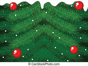 X-Mas Pine Tree