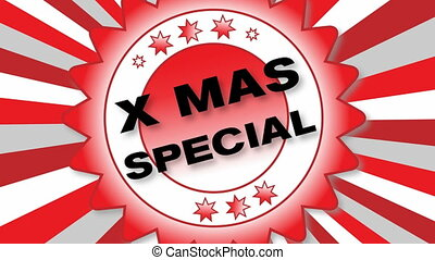 X Mas Special - animated Button