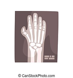 x paprsek, podoba, o, lidská bytost hráč, karikatura, vektor, ilustrace