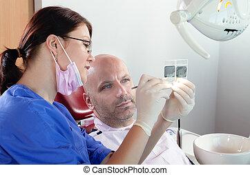 X-ray check