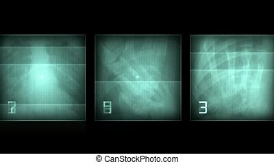 x-ray film,human skeleton. PAL. abstract background.