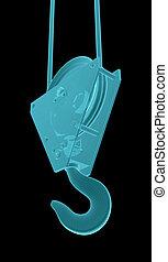 X-Ray Image Of Crane hook