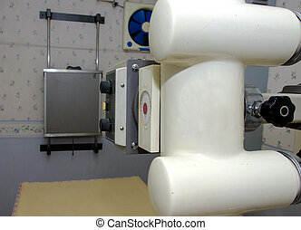 x-ray machine in hospital