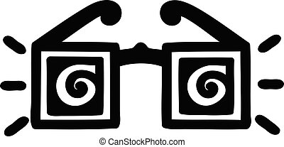 x ray specs icon symbol