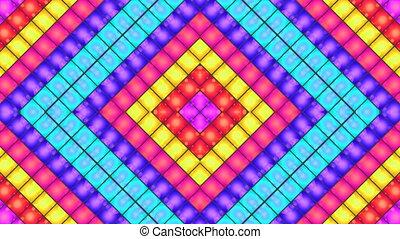 X square light box