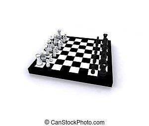 xadrez, 3d