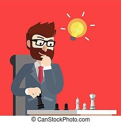 xadrez, estratégia negócio