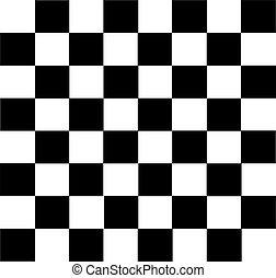 xadrez, fundo, tábua