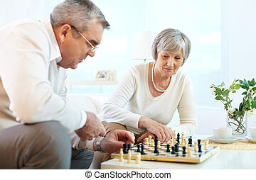 xadrez jogando